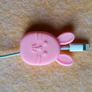 ซิลิโคน USB สายชาร์จ IPhone