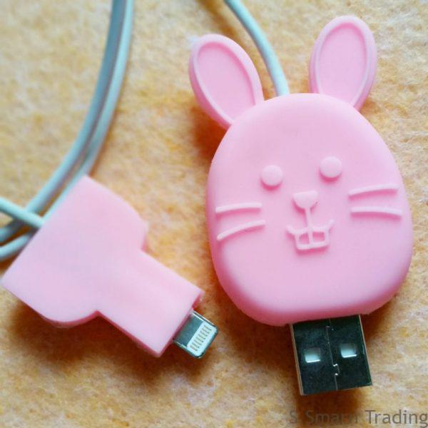 ซิลิโคนกันสายชาร์จหัก IPhone USB