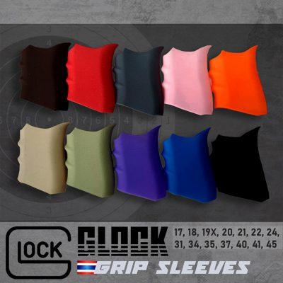 glock grip sleeves handgun กริ๊ปซิลิโคนด้ามปืนกล็อกกันลื่น 400x400 - Parallax Shop -