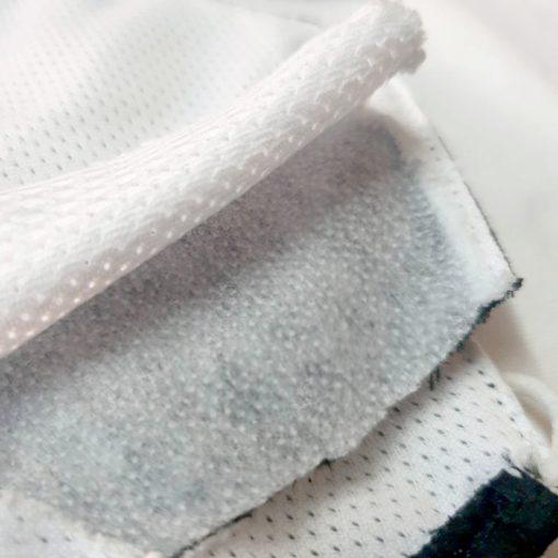 หน้ากากผ้า 3ชั้น มีผ้ากรอง หน้ากากผ้าคอตตอน สายยาวคล้องคอ มีผ้ากรองในตัว ด้านในผ้าตาข่าย แมสผ้า สำหรับผู้ใหญ่ พร้อมส่ง