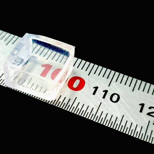 ยางซิลิโคนสวมขากระเป๋า แบบสี่เหลี่ยม ขนาด 10มม.