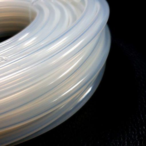 ท่อยางซิลิโคน 5/8 มม. ผลิตในประเทศไทย สายแข็งแรง สีใส สะอาด เกรดอย่างดี สายยางซิลิโคน ทนความร้อน ฟู้ดเกรด ทนเคมี