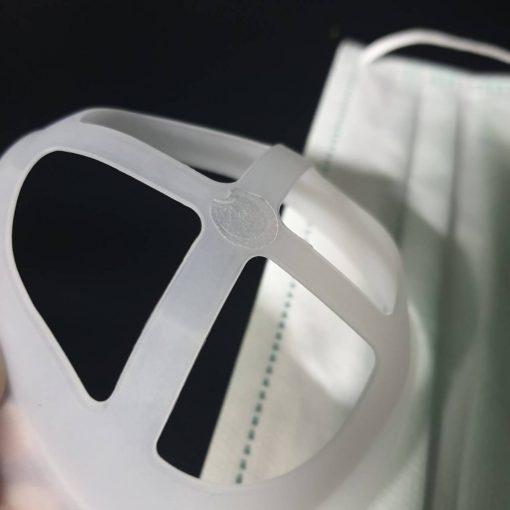 กาวสองหน้าแบบจุดใส 100จุด ติดโครงรองหน้ากากอนามัย ใช้ติดโครงให้อยู่กับที่