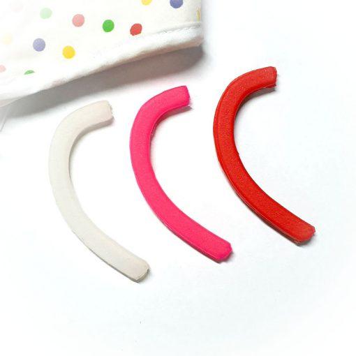 ซิลิโคนรองหู ใส่สายคล้องหน้ากากอนามัย ยางซิลิโคนรองสายเกี่ยวหู ลดอาการปวดหูเจ็บหู เมื่อใส่แมสเป็นเวลานาน